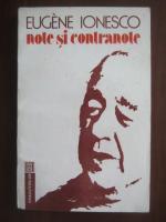 Anticariat: Eugene Ionesco - Note si contranote
