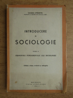 Anticariat: Eugeniu Sperantia - Introducere in sociologie (volumul 2, 1944)
