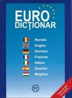 Anticariat: Euro dictionar (roman, englez, german, francez, italian, spaniol, maghiar)