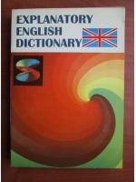 Anticariat: Explanatory english dictionary