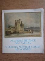 Anticariat: Expozitia Acuarele britanice, secolul XVIII-XX, din colectia Muzeului Castle Norwich