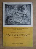Expozitia retrospectiva Olga Greceanu 1974