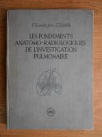 Anticariat: F. Kovats - Les fondements anatomo-radiologiques de l'investigation pulmonaire