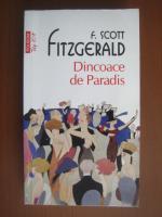 F Scott Fitzgerald - Dincoace de Paradis