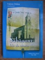 Anticariat: Fabian Dobos - Sabaoani, file de istorie