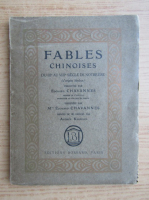Anticariat: Fables chinoises (1921)