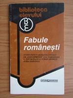 Anticariat: Fabule romanesti