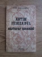 Fanny Djindjihasvili - Antim Ivireanul carturar umanist