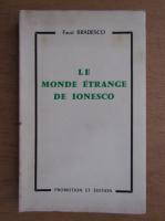 Anticariat: Faust Bradesco - Le monde etrange de Ionesco