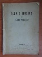 Anticariat: Faust Nicolescu - Teoria muzicei (volumul 1, 1930)