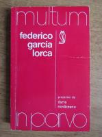 Anticariat: Federico Garcia Lorca - Multum in parvo