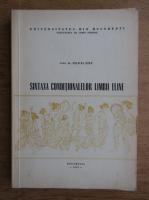 Felicia Stef - Sintaxa conditionalelor limbii eline