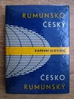 Anticariat: Felix Antonin Krecan, Jaroslav Blaha - Rumunsko-cesky / Cesky-Romunsko (Roman-Ceh / Ceh-Roman)