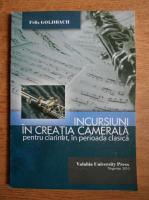 Felix Goldbach - Incursiuni in creatia camerala pentru clarinet, in perioada clasica