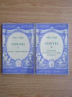 Anticariat: Felix Guirand - Voltaire Contes (2 volume, 1938)