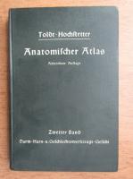 Anticariat: Ferdinand Hochstetter - Toldts Anatomischer Atlas fur Studierende und Arzte (1940)