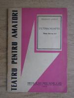 Ferencz Laszlo - Ultima noapte