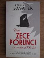 Fernando Savater - Cele zece porunci in secolul al XXI-lea