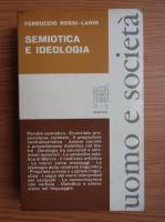 Ferruccio Rossi Landi - Semiotica e ideologia