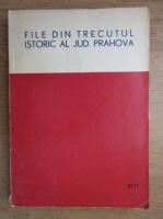 File din trecutul istoric al judetului Prahova