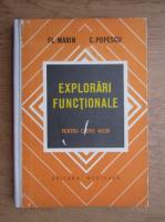 Anticariat: Fl. Marin - Explorari functionale