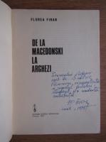 Anticariat: Florea Firan - De la Macedonski la Arghezi (cu autograful autorului)