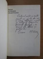 Florea Firan - Presa literara craioveana (1838-1975, cu autograful autorului)