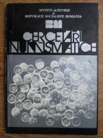 Anticariat: Florian Georgescu, Constanta Stirbu - Cercetari numismatice (1978)