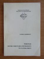 Anticariat: Florian Georgescu - Indrumar pentru cercetarea sociologica in cultura fizica