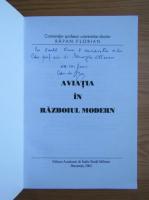 Anticariat: Florian Rapan - Aviatia in razboiul modern (cu autograful autorului)