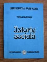 Florian Tanasescu - Istorie sociala