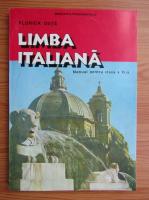 Anticariat: Florica Duta - Limba italiana. Manual pentru clasa a XI-a (2001)