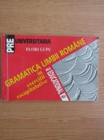Anticariat: Florica Lupu - Gramatica limbii romane in exercitii recapitulative