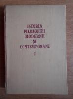 Anticariat: Florica Neagoe - Istoria filozofiei moderne si contempotane (volumul 1)