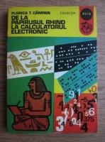 Florica T. Campan - De la papirusul Rhind la calculatorul electronic
