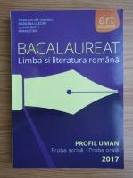 Anticariat: Florin Ionita - Bacaluareat. Limba si literatura romana, profil uman 2017