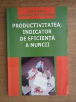 Florin Pasa - Productivitatea, indicator de eficienta a muncii