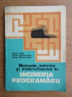 Anticariat: Florin Pilat - Metode, tehnici si instrumente in ingineria programarii
