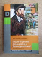 Florin Sindrilaru - Dictionar de personaje literare din proza si dramaturgia romaneasca