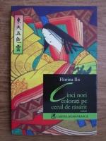 Anticariat: Florina Ilis - Cinci nori colorati pe cerul de rasarit