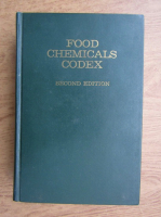 Anticariat: Food chemicals codex. Second edition