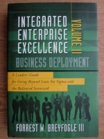 Forrest W. Breyfogle III - Integrated exterprise excellence. Volume 2