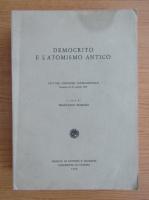 Anticariat: Francesco Romano - Democrito e l'atomismo antico