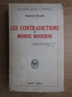 Anticariat: Francis Delaisi - Les contradictions du monde moderne (1925)