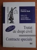 Francisc Deak - Tratat de drept civil. Volumul 2: Contracte speciale