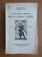 Anticariat: Francois Gaquere - Benoit-Joseph Labre