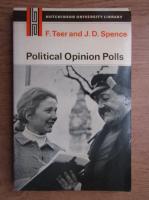 Anticariat: Frank Teer - Political opinion polls