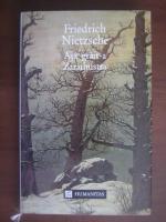 Friedrich Nietzsche - Asa grait-a Zarathustra
