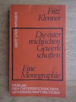 Anticariat: Fritz Klenner - Eine Monographie