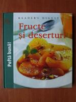 Anticariat: Fructe si deserturi (Reader's Digest)
